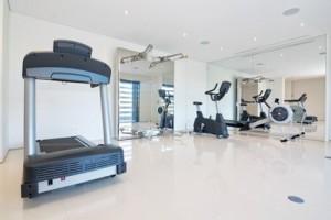 Transform your garage into a home gym baker door company