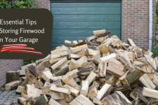 5 Essential Tips for Storing Firewood in Your Garage