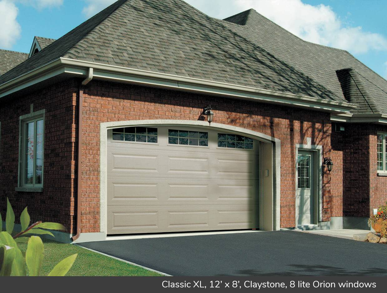 Classic XL, 12' x 8', Claystone, Orion 8 lite windows