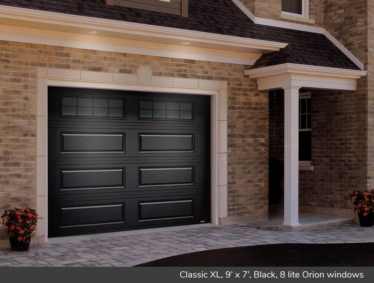 Classic XL, 9' x 7', Black, Orion 8 lite windows